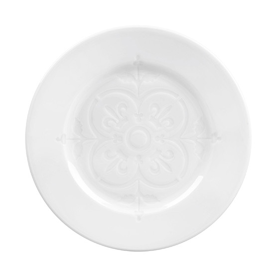 Montmartre Salad Plate with Embossed Center