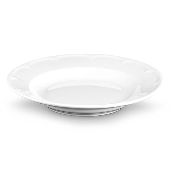 Montmartre Soup & Pasta Bowl with Scallop on Rim