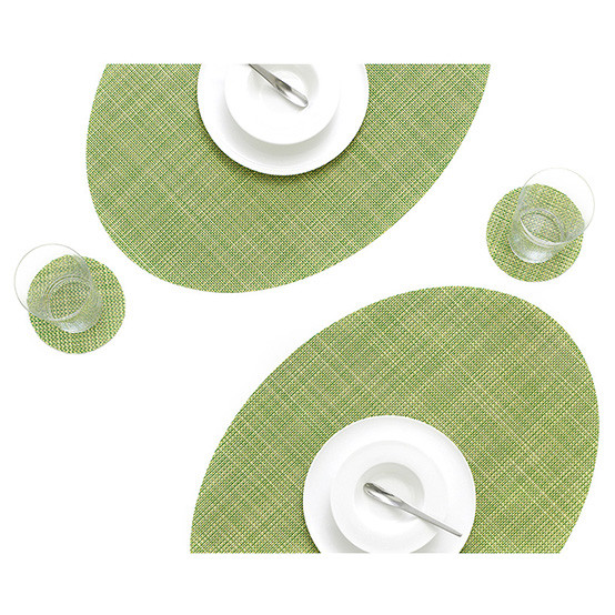 On Edge Mini Basketweave Placemat / Coaster Set