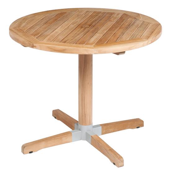 Bermuda 35 Inch Circular Pedestal Dining Table