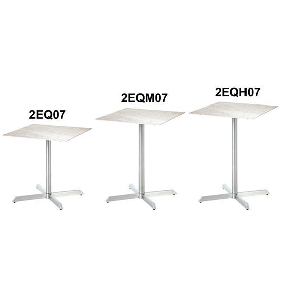 """Equinox 27"""" Square Ceramic High Dining Table"""