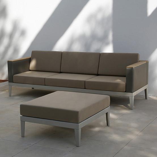 Aura Modular Deep Seating Ottoman