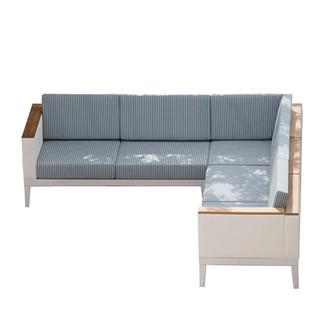 Aura Modular Deep Seating - Five-Seater Corner Sofa Barlow Tyrie