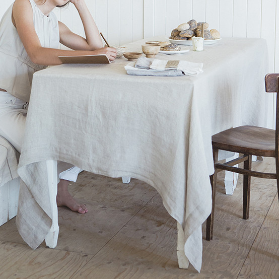 Fjord Washed Tablecloth