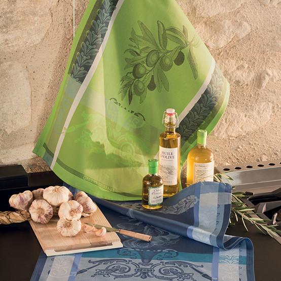 Olivier Vert Brumeux Kitchen Towel