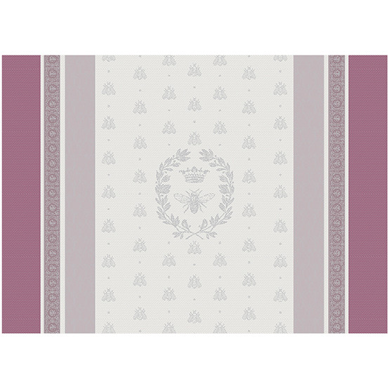 Abeilles Royales Parme Green Sweet Coated Placemat