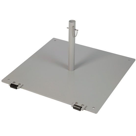 Small Free Standing Parasol Base Plate & Tube