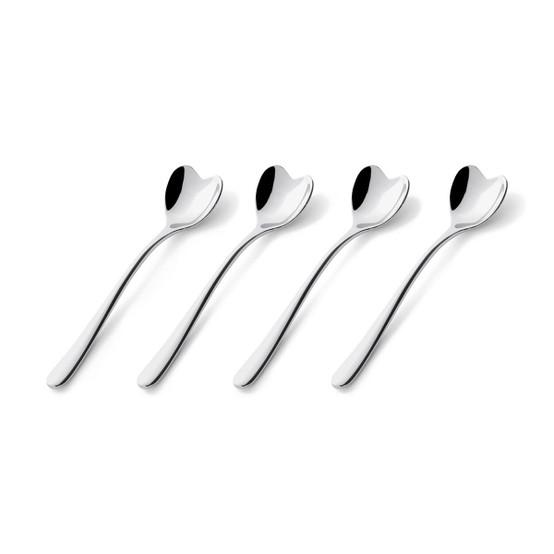 Big Love Ice Cream Spoons, Set of 4