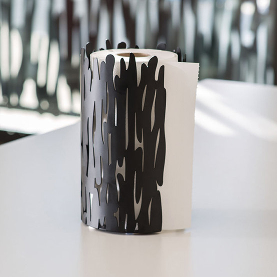 Barkroll Paper Towel Holder in Black