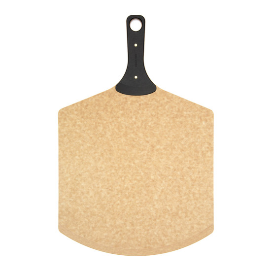 Pizza Peel with Riveted Handle in Natural/Slate