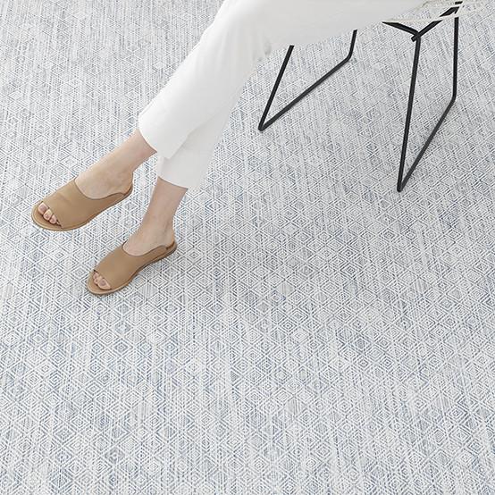 Mosaic Blue Floormat Sample