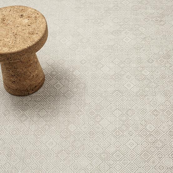 Mosaic Grey Floormat Sample