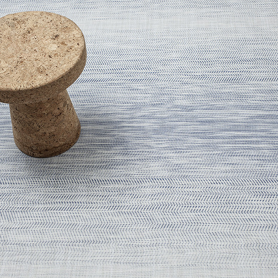 Wave Blue Floormat Sample