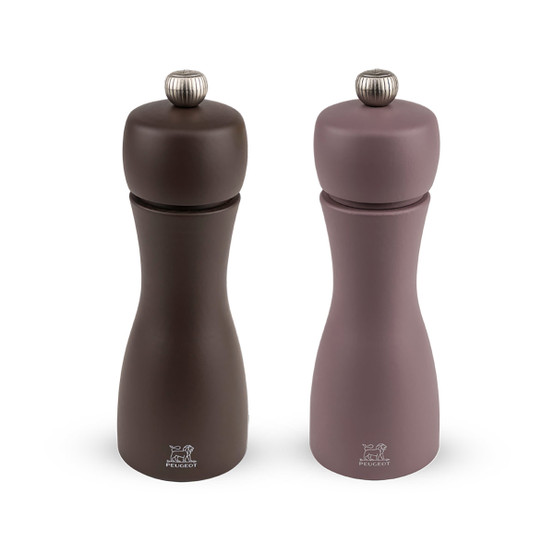 Tahiti Salt and Pepper Mills in Winter