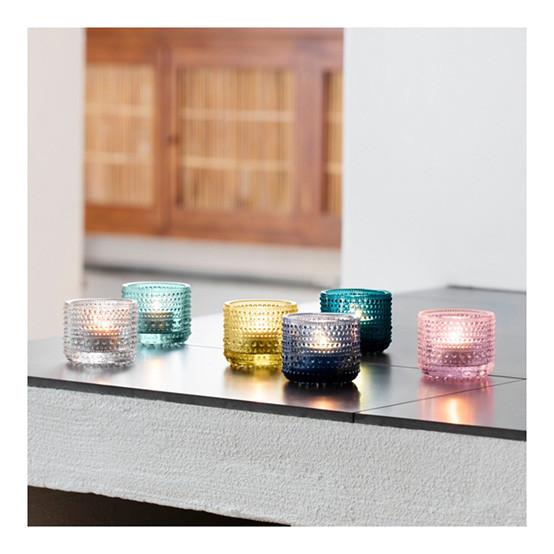 Kastehelmi Tealight Candleholder in Emerald