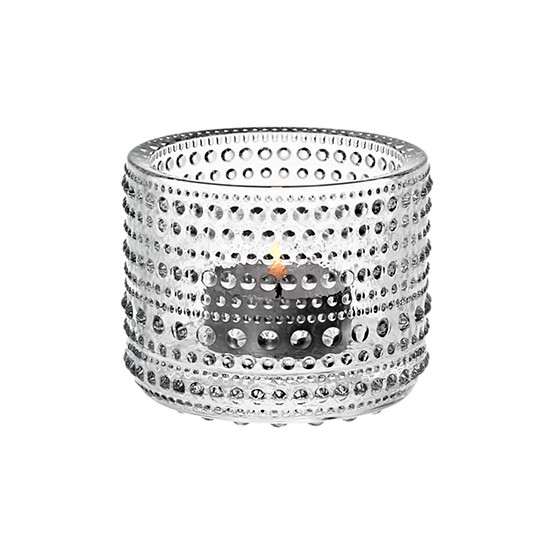 Kastehelmi Tealight Candleholder in Clear