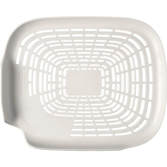 Prep N' Rinse Flat Colander in White