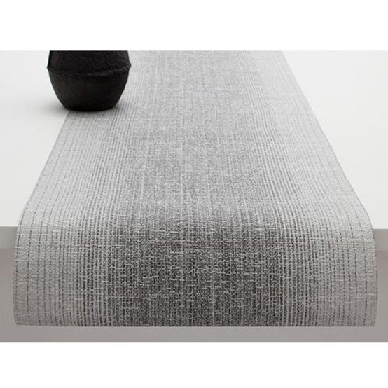 Ombré Table Runner in Silver