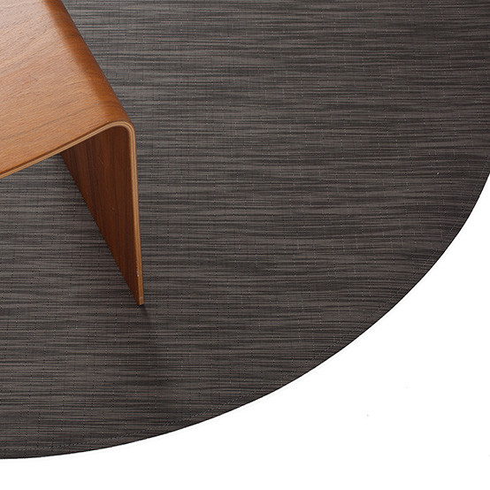 Reed Round Floormat in Ash
