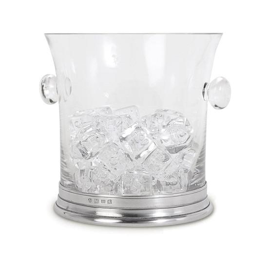 Crystal Ice Bucket with Handles