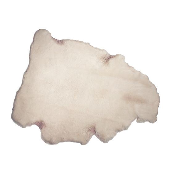 Ivory Natural Sheepskin