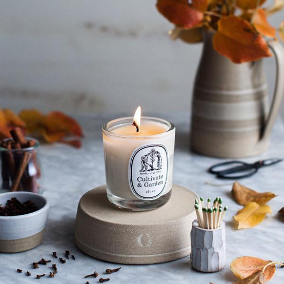 Cultivate and Garden Clove Candle