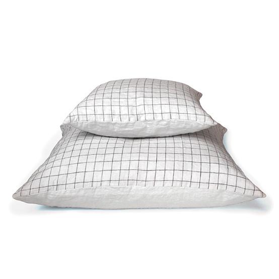 "17"" Check Pillow"