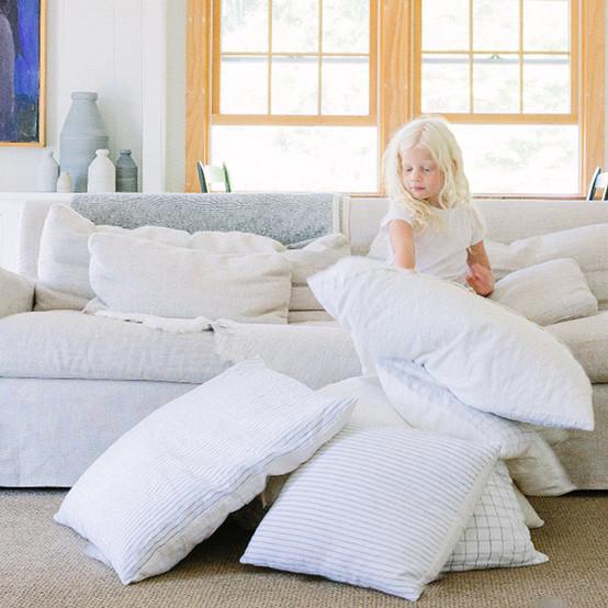 """26"""" Stripe Pillow"""