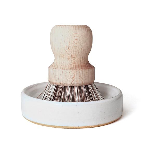 Laurel Pot Brush Set