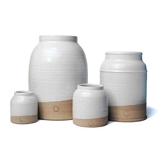 Large Milk Jug Vase