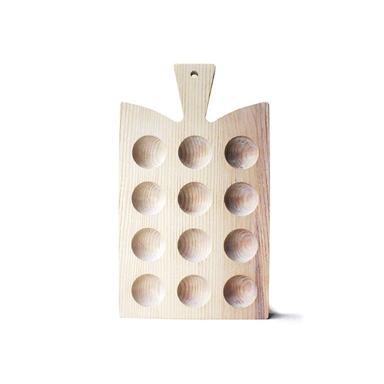 White Araucana Egg Board