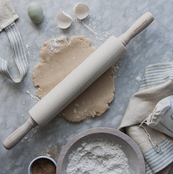 White Baker's Rolling Pin