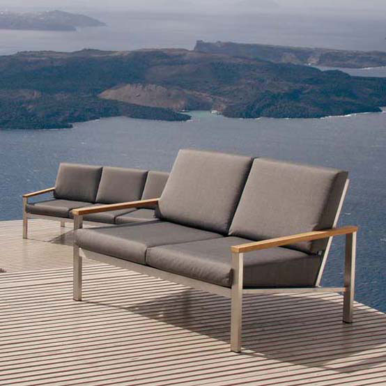 Equinox Deep Two Seater Settee