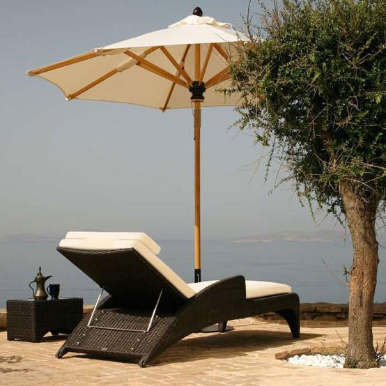 Savannah Sun Lounger With Cushion