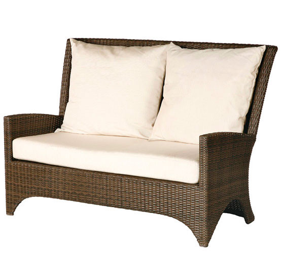 Savannah Loveseat Settee With Cushions