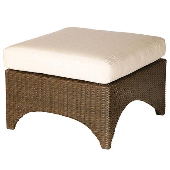 Savannah Ottoman With Cushion