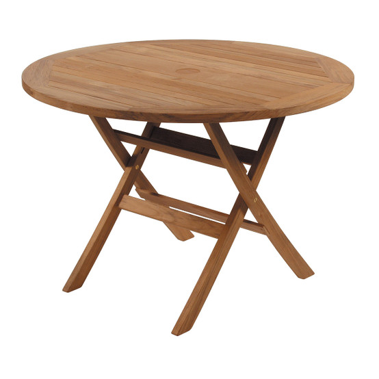 Ascot Folding Table 43 Inch Round