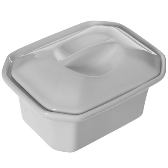 Faceted Terrine with Lid