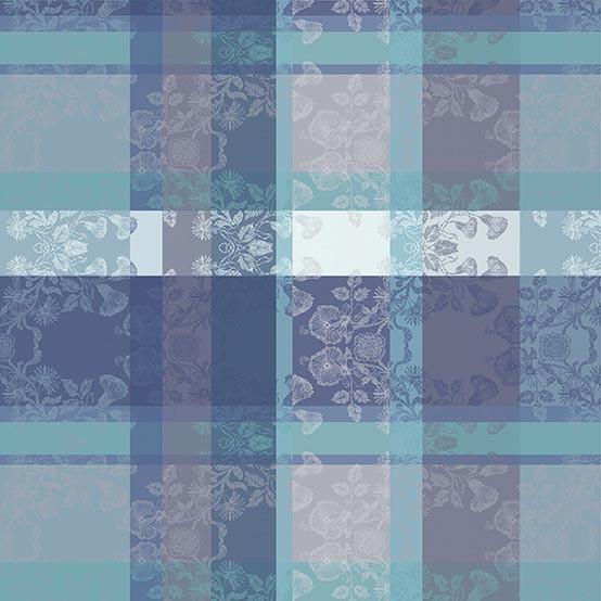 Mille Fiori Cotton Tablecloth in Givre