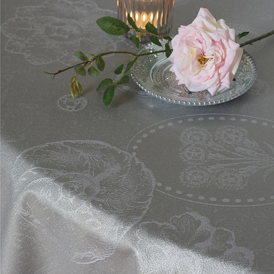 aMille Eclats Macaron Irisé Coated Tablecloth