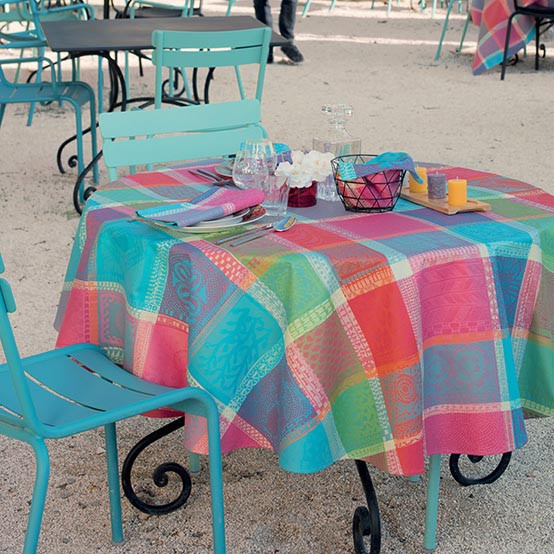 Mille Wax Cocktail Coated Tablecloth