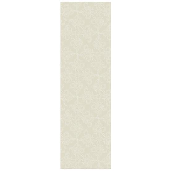 Garnier-Thiebaut Mille Eternel Cotton Table Runner in Albâtre
