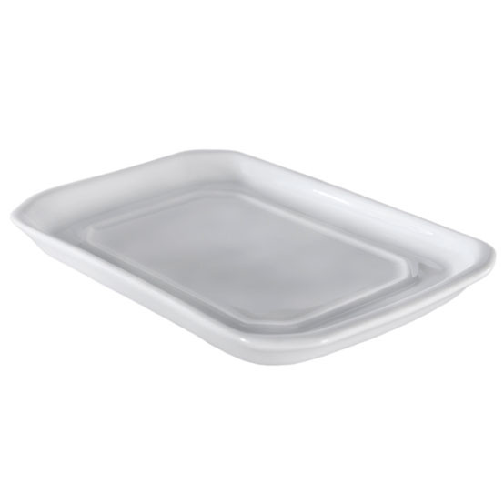 Covered Butter Tray European Size