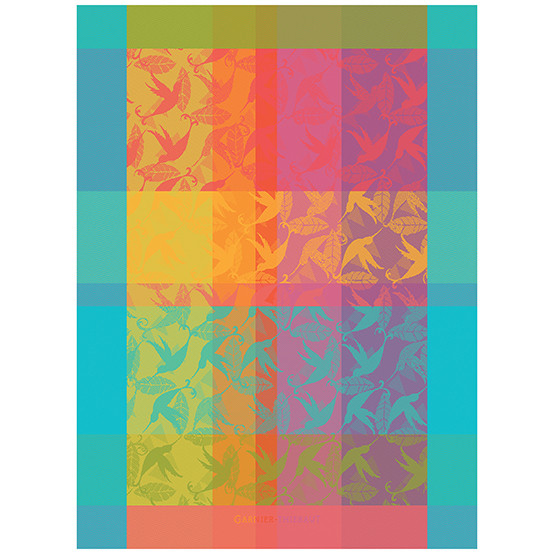 Mille Colibris Kitchen Towel in Antilles