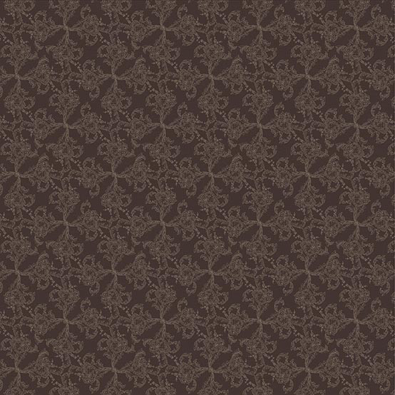 Mille Eternel Coated Fabric in Ebene (Price/Inch)