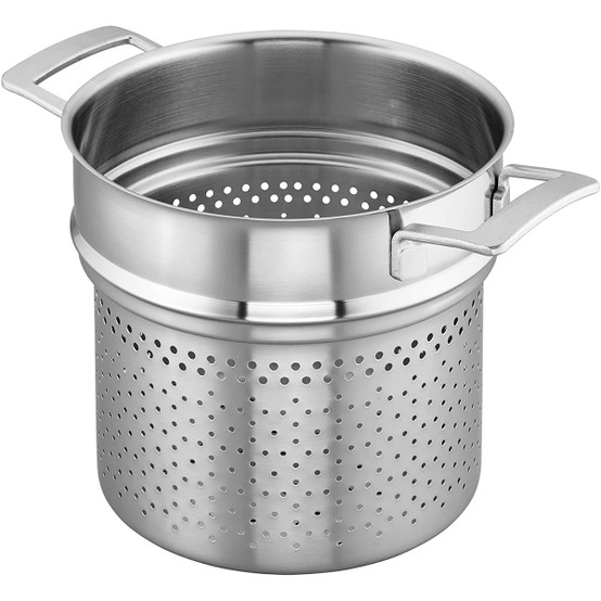 Industry 8 qt Stainless Steel Pasta Insert