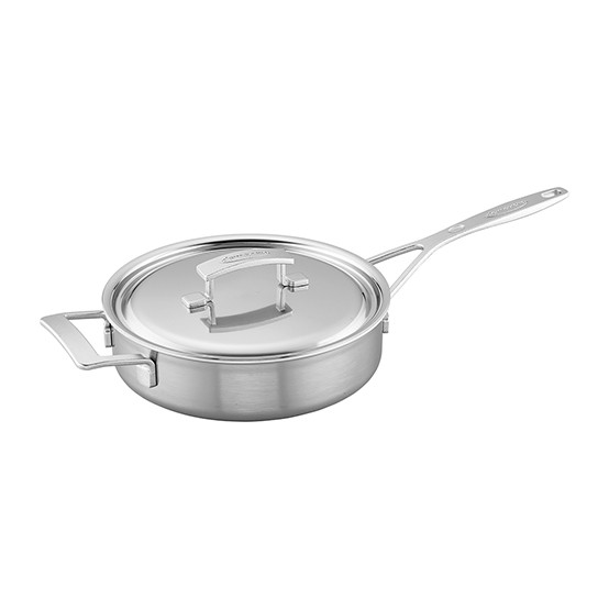 Industry 5-Ply 3-qt Stainless Steel Saute Pan