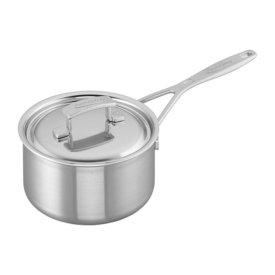 Industry 5-Ply 2-qt Stainless Steel Saucepan