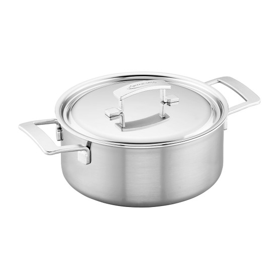 Industry 5.5 Qt Stainless Steel Dutch Oven
