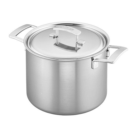 Industry 5-Ply 8-qt Stainless Steel Stock Pot